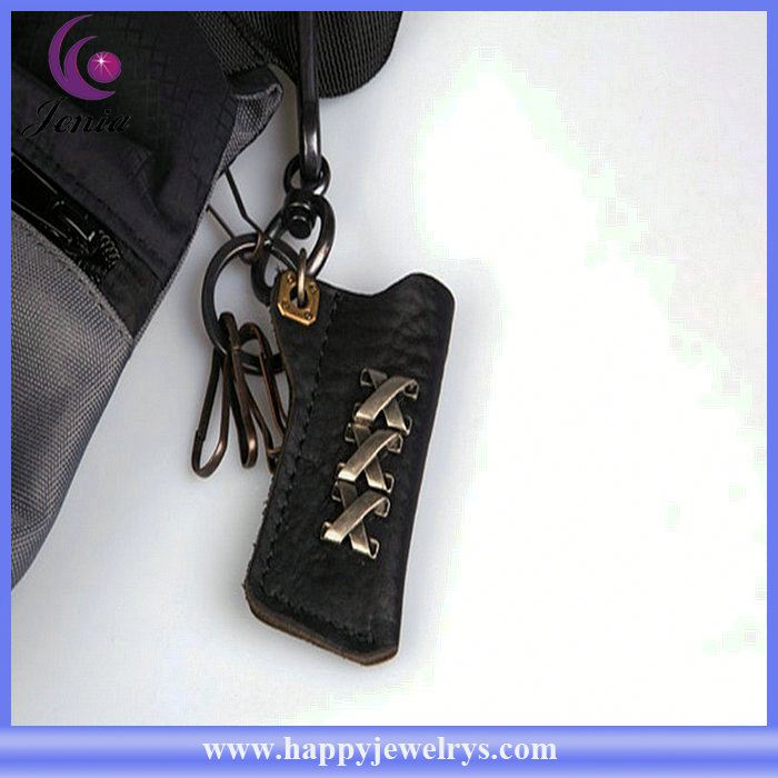 Newest arrival! high quality Gps Tracker genuine leather key chain KY0180-2