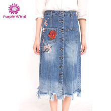 Hot Sell embroidered 100%cotton ladies short skirt designs