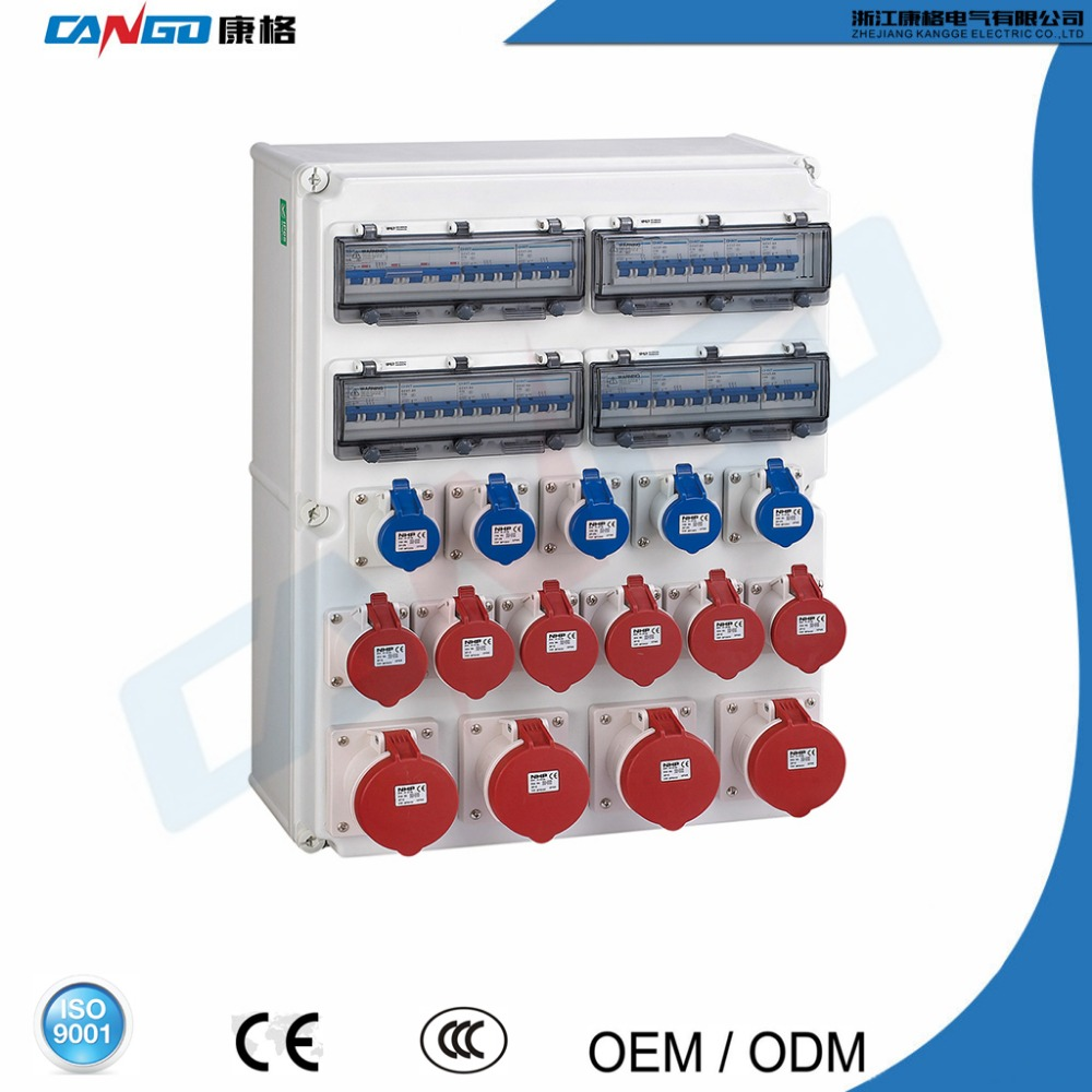 2017 Hot Selling Plastic Outdoor Electrical Control Panel Board / Distribution Box