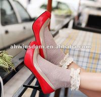 women newest fashion high heel shoes