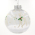 Popular durable clear plastic ball christmas ornaments