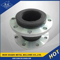 Supply flange end galvanized rubber expansion joint with high quantity