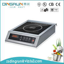 2800W 3500W 304 stainless steel housing commercial induction cooker