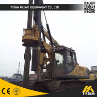 TYSIM, hydraulic pile driving machine KR80A, pile driving machine, drill machines with factory price for hot sale