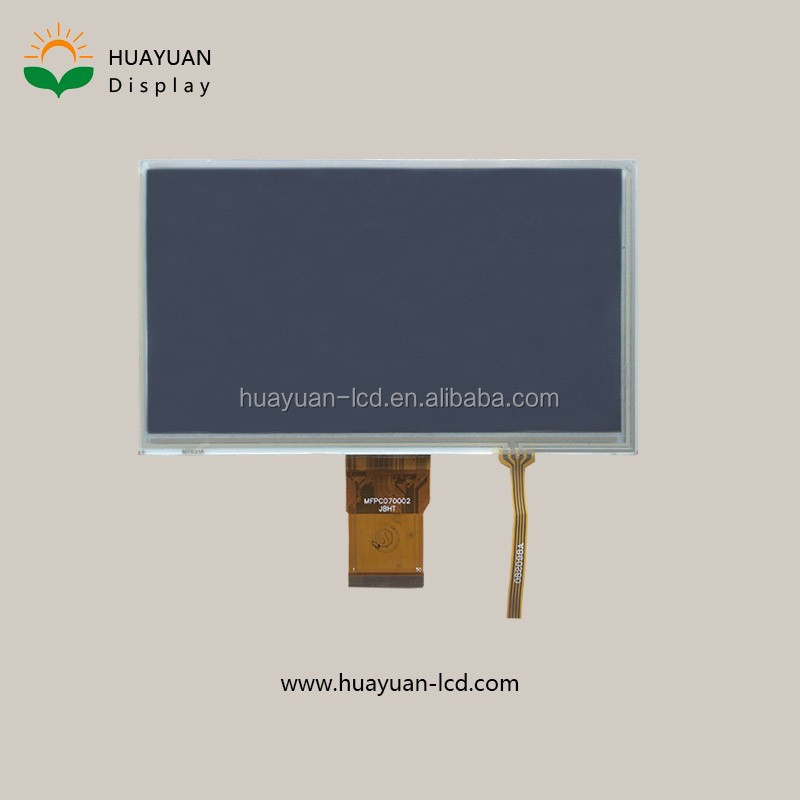 7 inch Transparent tft lcd display transparent tft lcd LCD Display circular