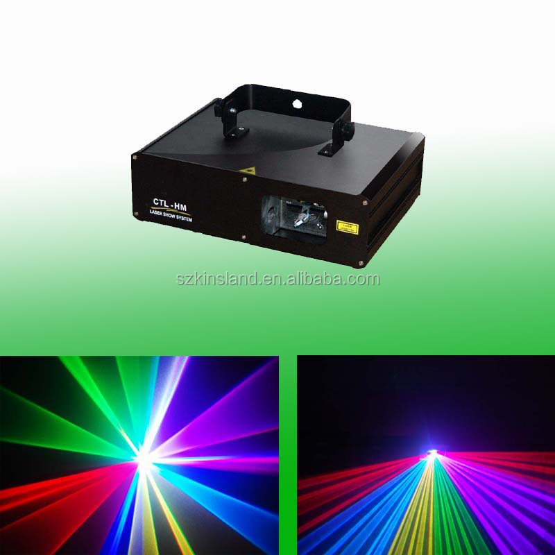 600mW RGB Color Stage Lights Moving Heads Beam Laser Show Projector With Sound