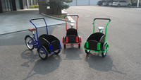 Cheap kids bike with three wheel cargo trike/electric rickshaw/vehicle cargo tricycle UB-9035