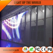 p5 New product RGB transparent glass led display in china