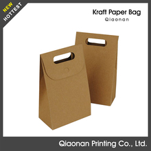 Cheap Flat Handle Paper Grocery Bags