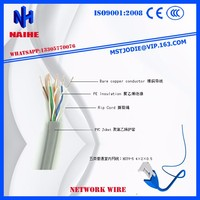 Cat6 cable UTP Indoor Lan Cable 305M Bare copper wire Passed Fluke