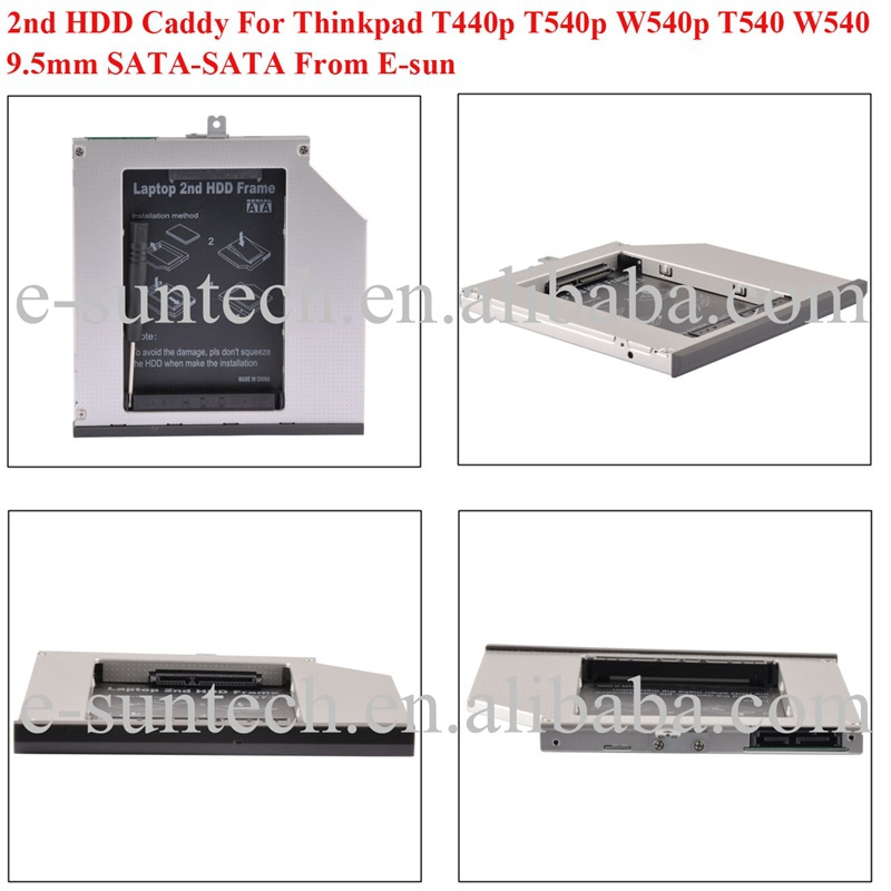 2nd usb3.0 9.5mm hard drive caddy
