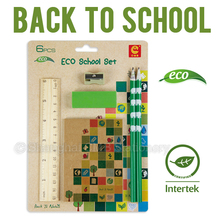 Eco back to school gift set promotional for children