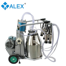 Best price electric portable cow milking machine for sale