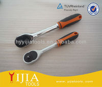 Two Color Rubber Handle Ratchet Wrench/Torque Wrench Hand Tool