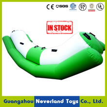 Best Quality NEVERLAND TOYS Funny Sports Games Giant Inflatable Water Adult Seesaw