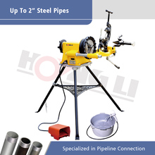 Pipe thread machine