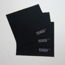 Suede microfiber glasses cleaning cloth