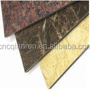 size 3mm acp PE coating aluminium composite panel for kitchen cabinets waterproof wall panels