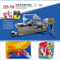 Blister sealing machine have good price for toy, stationery, bettries and so on
