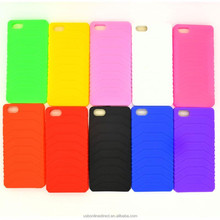 Hot Sale Soft Silicone Protective Case Cover for Iphone5 black