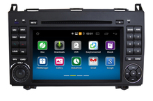 For Mercedes B200 W169 W245 2 din Android 6.0 car dvd radio player With GPS multimedia stereo system