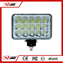 Factory wholesale price 4wd accessories 45W led light car motocycle with IP67, CE, RoHS