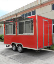 FS400C Yiying factory made brand new mobile kitchen cargo micro van refrigeration units