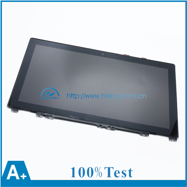 "(With Bezel )15.6"" LCD Touch Screen Assembly For Lenovo IdeaPad U530 FHD 1920x1080 Laptop LCD Screen"