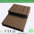 Hot sale 150x25mm wood plastic composite WPC decking board with natural wood grain