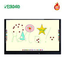 "55"" 65"" 75"" smart interactive touch screen smart led tv display"