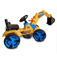 2017 Chinese Wholesale Cheap Price Top Quality Fashion Children Electric Mini Excavator for kids ride on