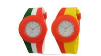 Cheap custom logo kids silicone watch , cool kids silicone plastic watch