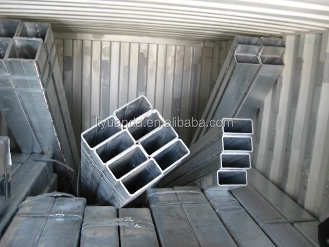 ABS certification 50x50mm mill square steel pipe manufacturer