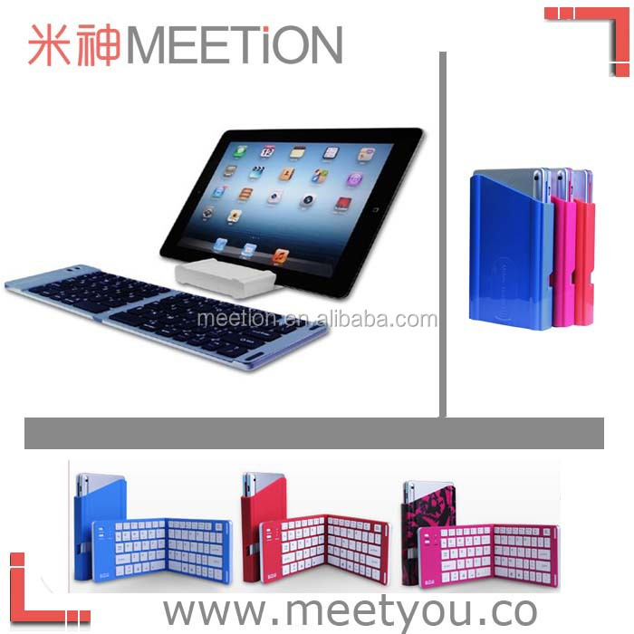 for ipad 2/3/4 /5 and ipad air Foldable bluetooth keyboard MT-B185 mini bluetooth keyboard