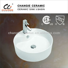 6004 cupc & CSA approved, vessel sink,vanity basin
