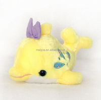 Seaworld Baby Yellow Whale Plush Toy Stuffed Animal