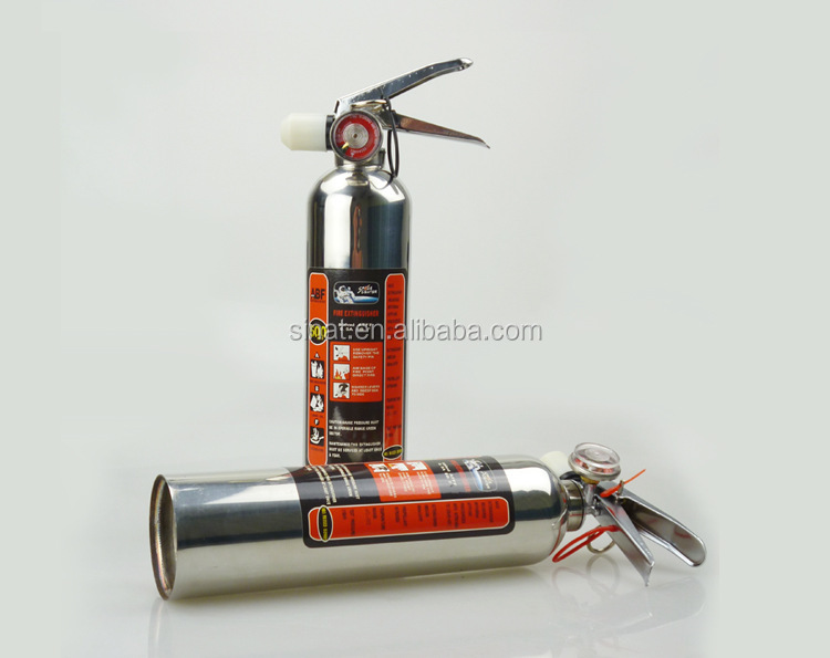 AFFF3% foam stainless steel 1000ml fire extinguisher