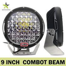 Factory Sale 9inch 18500lm IP68 Round Combo Beam Tractor Work Light,Wholesale Led Work Light 4x4