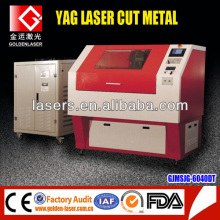 Small Stainless Steel Cutting Machine / 500W 60W yag laser cutter