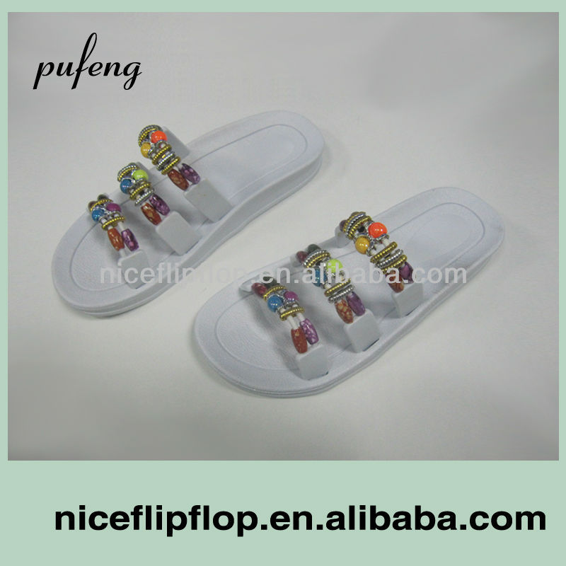 New design fashion style women slippers sandals 2014