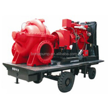Heavy Duty Trailer Mounted Emergency Big Flow Diesel Engine Water Pump