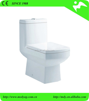 MLZ-20 New square one piece toilet ROCA design sanitary ware toilet India washdown one piece closet toilet