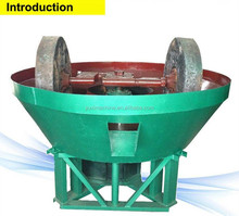 China Lowest price silver copper zinc iron lead ore dressing small gold/1200A wet pan grinding mill