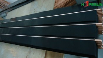 Black Chrome Copper Solar Absorber Fins