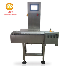Production line weight checking machine for food packaging industry