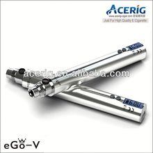 variable voltage ego battery lcd display ego-v mega battery