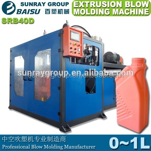 1000ml bottle extrusion blwo molding machine