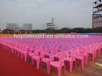 2013 China Mold factory wholesale price high quality plastic chair mould baby shower chairs for rent