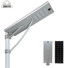 best rated outdoor bridgelux ultra thin led solar panel street light 60w