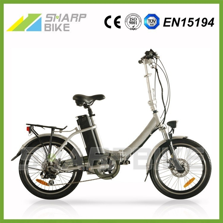 2015 Hot sell 250w 36v green energy adult 20 inch folding electric bycicle for city road